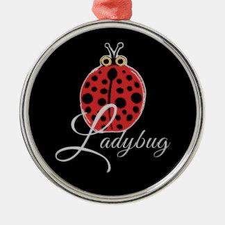 Lucky Ladybug Metal Ornament