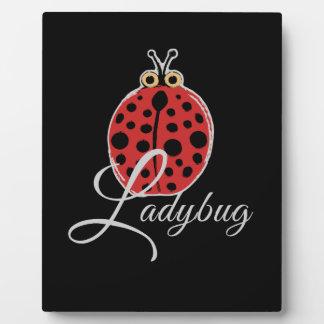 Lucky Ladybug Plaque