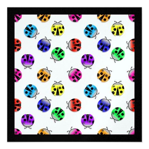Lucky Ladybugs - SRF Personalized Invites