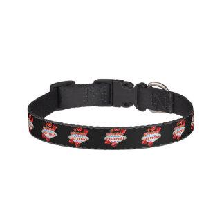 Lucky Las Vegas pet collar