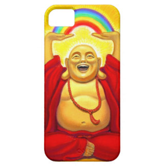 Lucky Laughing Rainbow Buddha iPhone 5 Case
