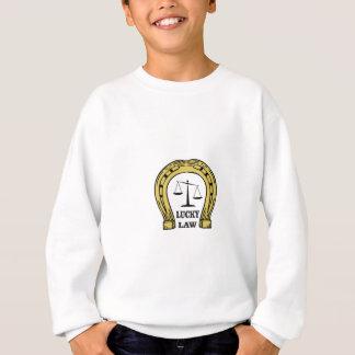 lucky law fun sweatshirt