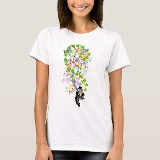 Lucky Leprechaun With Shamrocks T-Shirt
