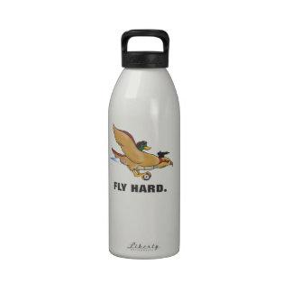 Lucky Mallard Fly Hard Water Bottle