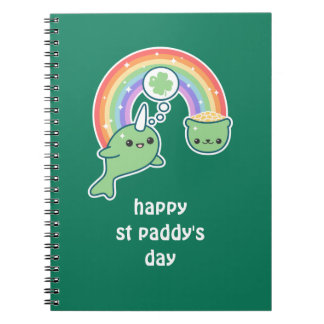 Lucky Narwhal Spiral Notebook