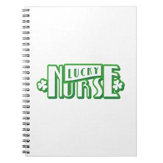 Lucky Nurse St Patricks Day Notebook
