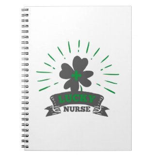 Lucky Nurse St Patrick's Day Notebook