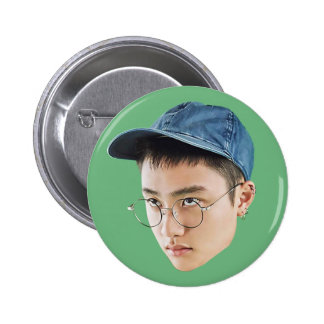 Lucky One D.O. 2 Inch Round Button