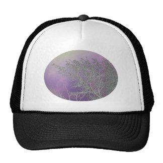 Lucky Purple n Silver Streaks V5 Trucker Hat