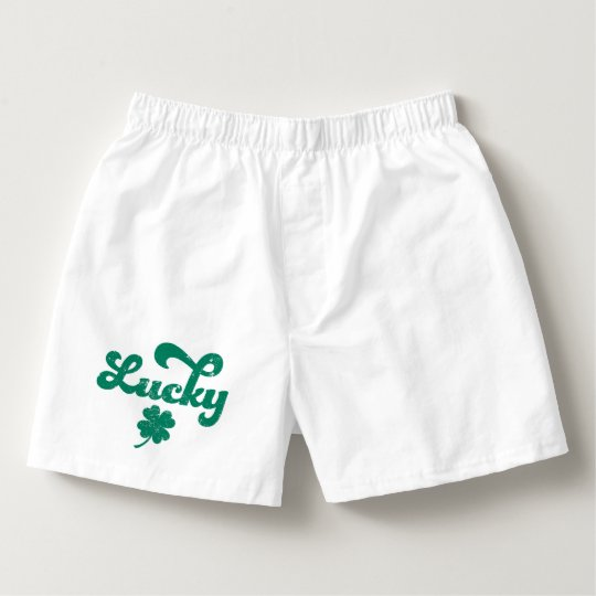 Lucky | Retro St Patrick's Day Boxers