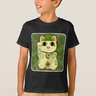 Lucky Saint Patrick's Day Cat T-Shirt