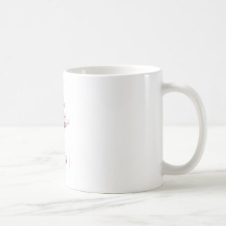 lucky sakura and pink goldfish, tony fernandes coffee mug