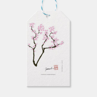 lucky sakura and pink goldfish, tony fernandes gift tags