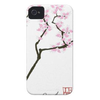 lucky sakura and pink goldfish, tony fernandes iPhone 4 case