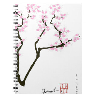 lucky sakura and pink goldfish, tony fernandes notebook