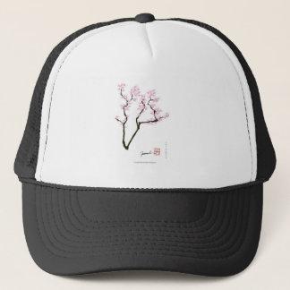lucky sakura and pink goldfish, tony fernandes trucker hat