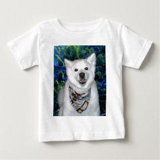 Lucky Samoyed Baby T-Shirt