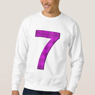 Lucky Seven Vibrational Spirals Number 7 Shirt