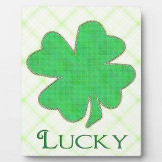 Lucky Shamrock #2 Plaque