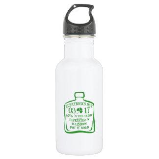 Lucky shamrock bottle
