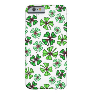 Lucky Shamrock Clover Barely There iPhone 6 Case