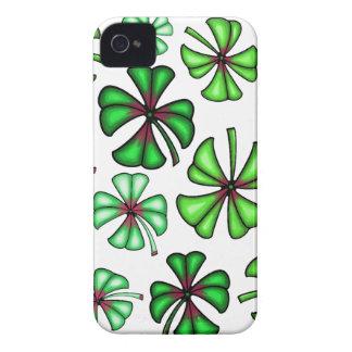 Lucky Shamrock Clover Case-Mate iPhone 4 Case