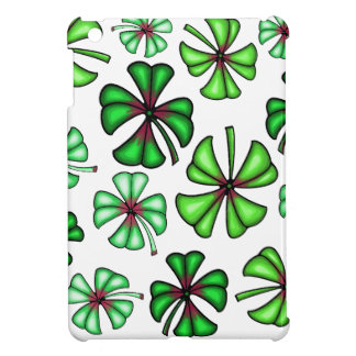 Lucky Shamrock Clover Cover For The iPad Mini