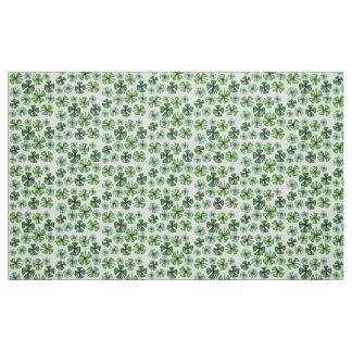 Lucky Shamrock Clover Fabric