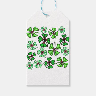 Lucky Shamrock Clover Gift Tags