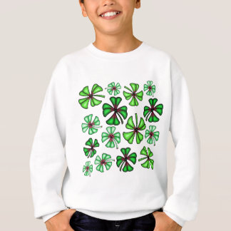 Lucky Shamrock Clover Sweatshirt