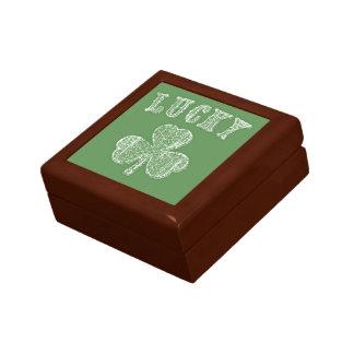 Lucky Shamrock Gift Box