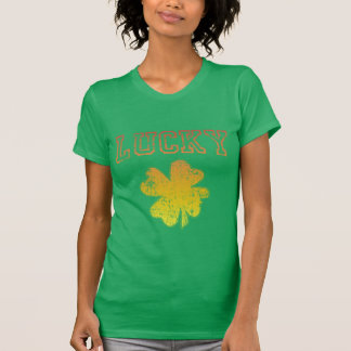 Lucky Shamrock Irish shirt