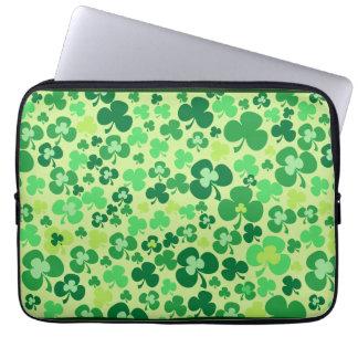 Lucky Shamrock Laptop Case