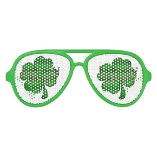 Lucky Shamrock LSTX Aviator Sunglasses