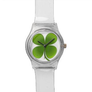 Lucky Shamrock Wrist Watch