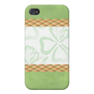 Lucky Shamrocks 4g iPhone Case