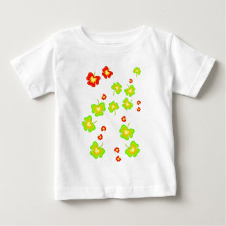Lucky Shamrocks Baby T-Shirt