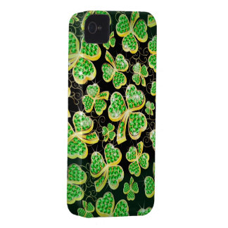Lucky Shamrocks iPhone 4 Case
