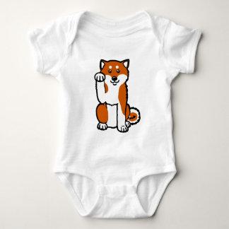 Lucky Shiba Baby Bodysuit