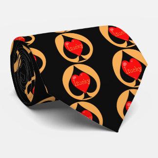 Lucky Spades Tie