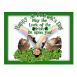 Lucky St. Patrick's Day Geese