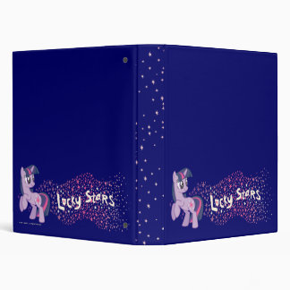 Lucky Stars 3 Ring Binders