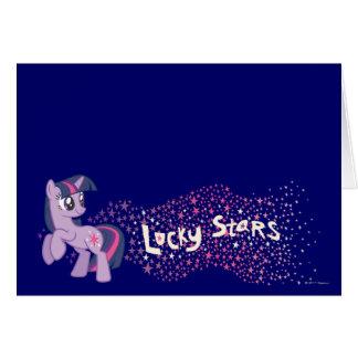 Lucky Stars Card
