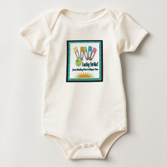 Lucky Strike Retro Baby Bodysuit