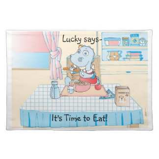 Lucky the Dragon Place Mat