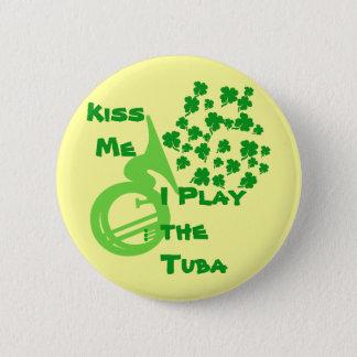 Lucky Tuba 2 Inch Round Button