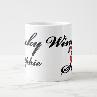 Lucky Winner Lucky Name 7s Slots Large Coffee Mug