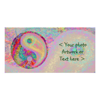 Lucky YIN YANG - for Balance in Life Picture Card