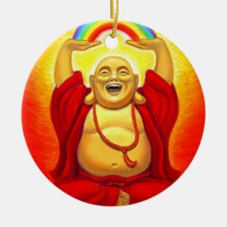 Lucky Zen Laughing Buddha Ornament