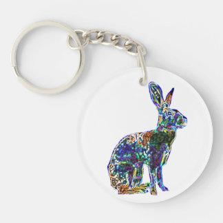 Lucky Zodiac Hare | keychain